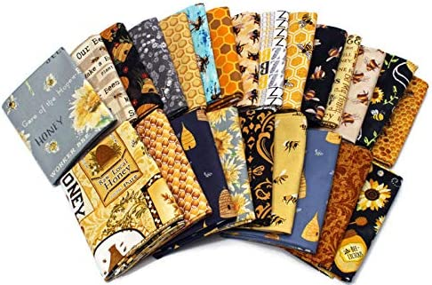 10 Fat Quarters Ranking TOP4 - Honey Bee Bees Bumblebee Save Apiary Low price Beeke The