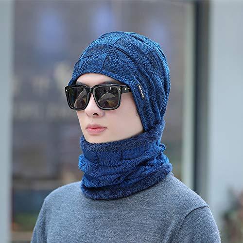 Winter muts beanie gebreide mutsen Cap merk winter hoed sjaal set voor mannen vrouwen 2 stuks set warme vrouwelijke sport casual hoed gebreide unisex hoed sjaal warme motorkap