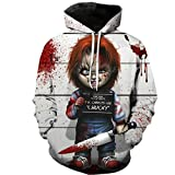 Harry Shops Halloween Holiday New8 Latest Style Unisex Horror LL Hoodie Costume -Medium