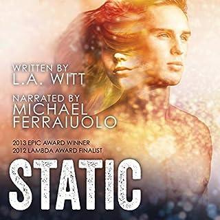 Static audiobook cover art