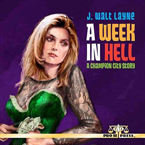 A Week in Hell audiobook cover art