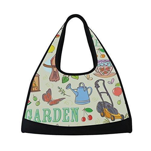 tizorax Garten-Set Duffle Reisetasche Sport Gym Bag Umhängetasche