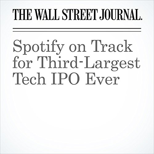 Spotify on Track for Third-Largest Tech IPO Ever copertina