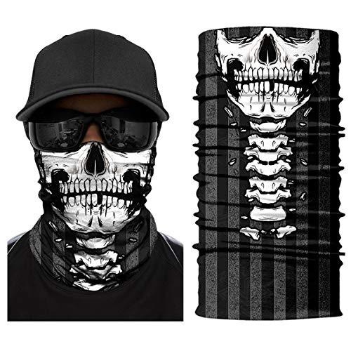 Outdoor Skull Face Multifunctional Bandana Headwear Now $6.79