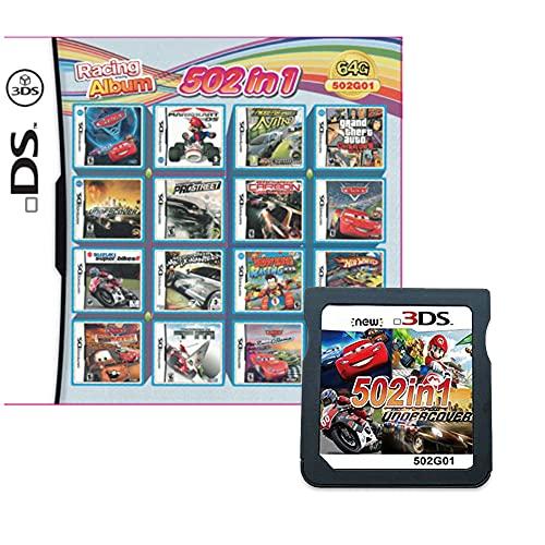 502 Spiele in 1 NDS Game Pack-Karte Super Combo Multi-Cartridge für DS NDS NDSL NDSi 3DS LL/XL
