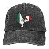 Gorra Bandera De México Gallo Cowboy Gorra De Golf Deportes Al Aire Libre Gorras De Hip-Hop Únicas Gorra De Camionero Clásica con Impresión Gorras De Béisbol Gorra De Béisbol Dura