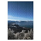 1000 Piece Puzzle Heavenly Valley Ski Resort at South Lake Tahoe Indoor ActivitiesDifficult Jigsaw Puzzle Set for Adults Children Educational Toys Gift