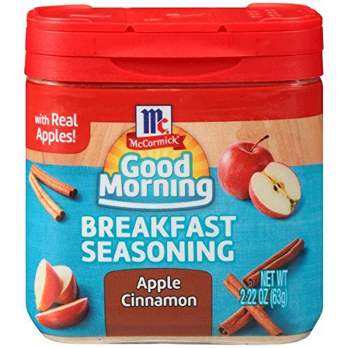 McCormick Good Morning Apple Cinnamon Breakfast Seasoning, 2.22 oz