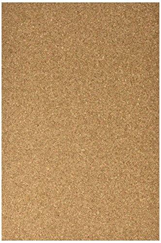 Faibo 616–2–pack di 10fogli di sughero, 30x 45cm, colore: marrone