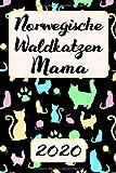 NORWEGISCHE WALDKATZEN MAMA 2020: Terminplaner Katzen Kalender Planer | Frauchen Terminkalender Wochenplaner, Monatsplaner & Jahresplaner für ... Familie & Beruf | Geschenk für Katzenmama