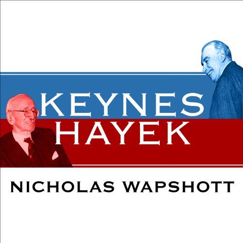 Keynes Hayek audiobook cover art