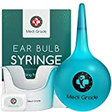 Bulbo de Jeringa Grande para Eliminar Tapones de Oídos [200 ml] – Set para Limpiar Oídos con...