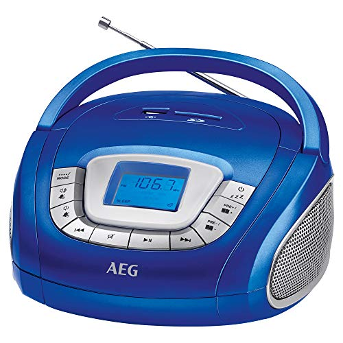 AEG SR 4373 Stereoradio, Uhr mit Alarmfunktion, Multifunktionsanzeige