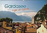 Gardasee. Lago di Garda (Wandkalender 2019 DIN A2 quer): Ein perfekter Jahresbegleiter für jeden Liebhaber des Gardasees und die Region Trentino (Monatskalender, 14 Seiten )