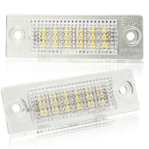 LED Kennzeichenbeleuchtung Canbus Module mit E-Prüfzeichen V-030609