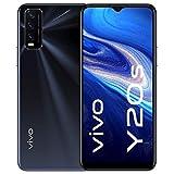 vivo Y20s, Obsidian Black, 4+128GB, 6,51 Zoll HD+ Display, seitlicher Fingerabdruck und Face Wake,...