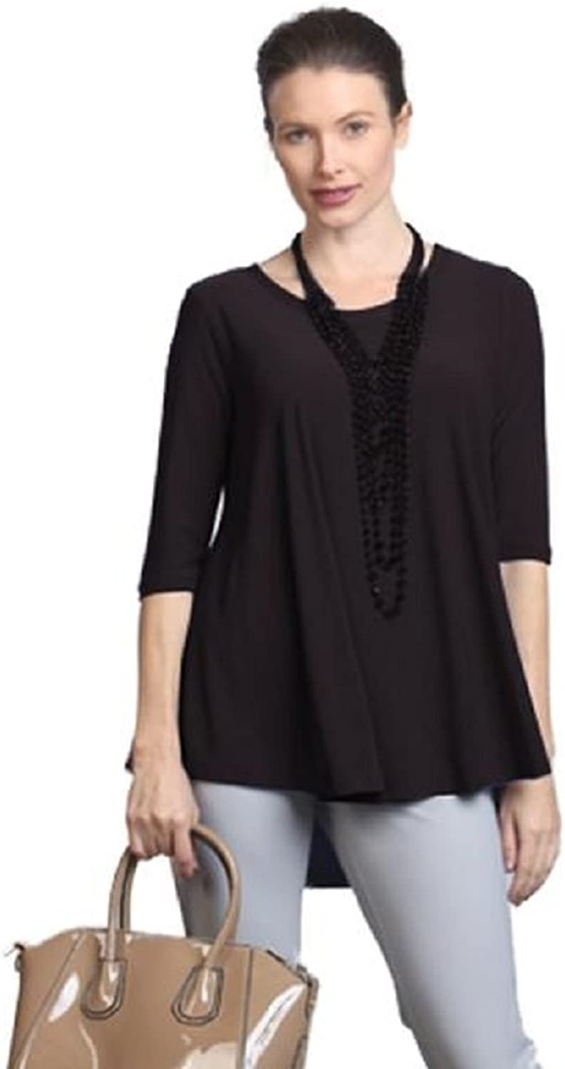 IC Collection HighLow Top in Black  6899TBLK