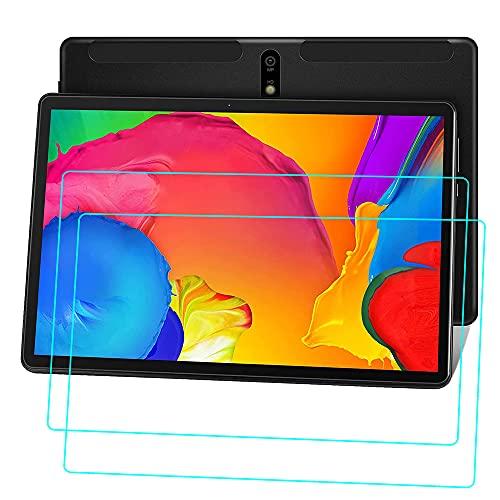 YHFZR Protector de Pantalla para MEBERRY M7-B Tablet 10 Pulgada, [Alta Definicion] [Sin Burbujas] Cristal Vidrio Templado Premium 9H Dureza para MEBERRY M7-B Tablet 10 Pulgada, 2PCS