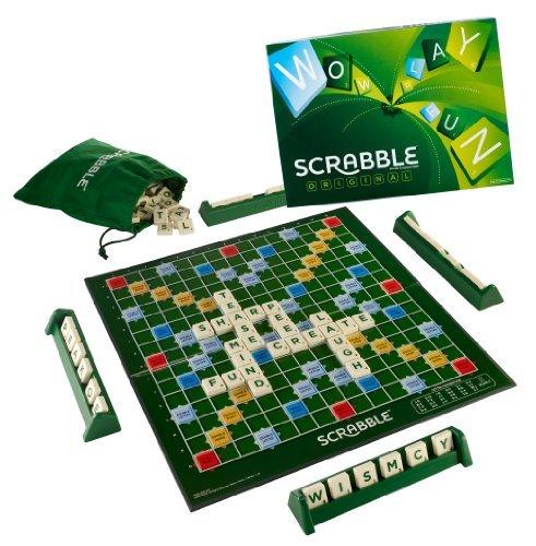 Scrabble Original Board Game by Mattel: Amazon.es: Juguetes y juegos