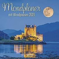 Der grosse Mondplaner 2021: Broschuerenkalender mit Ferienterminen und Mondpausen