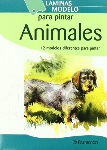 Láminas modelo para pintar animales (Láminas modelo para dibujar)