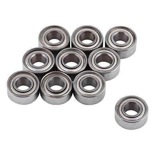 10 Piezas 5x11x5 mm 685ZZ Rodamientos de Bolas en Miniatura de Acero de Doble Blindaje