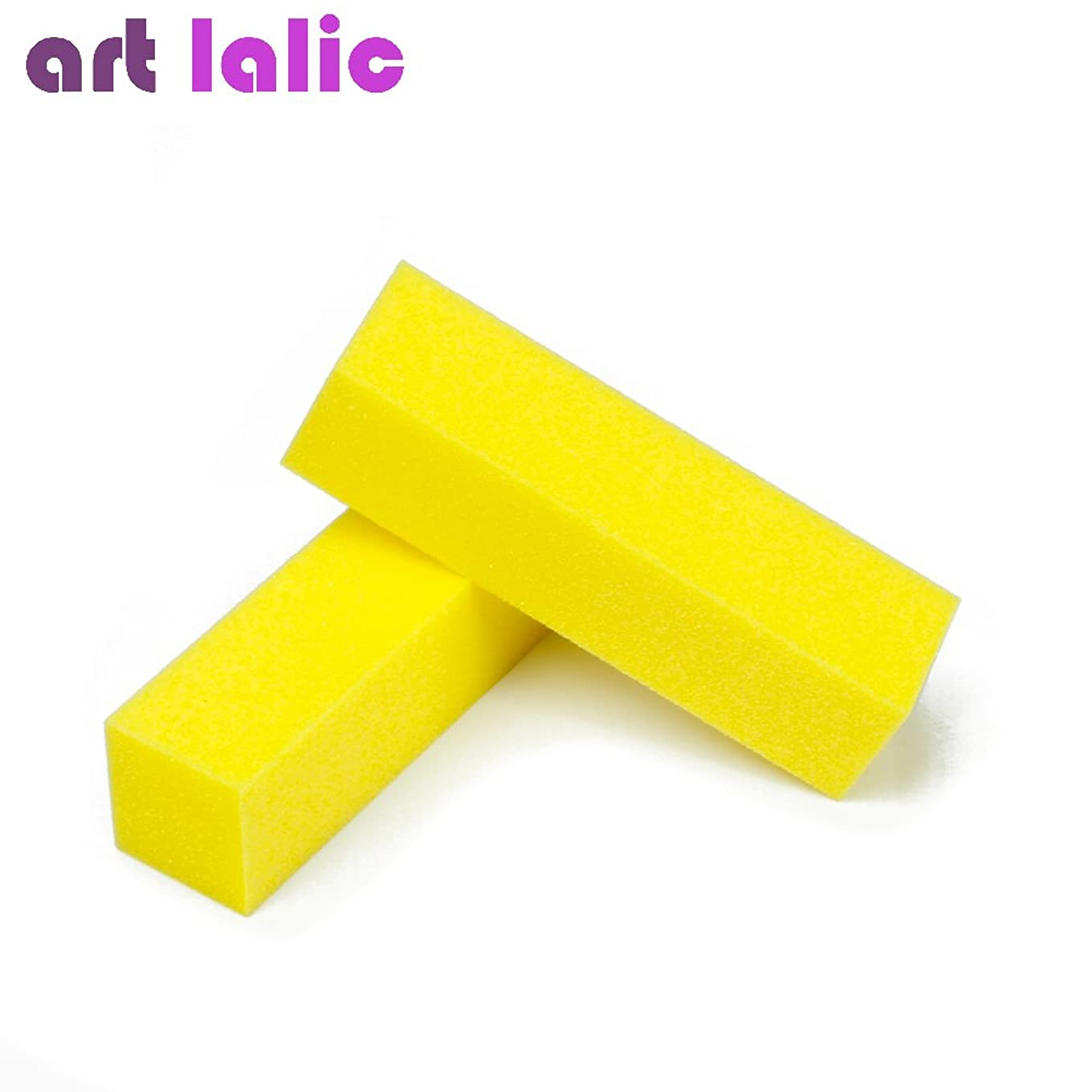 ギャング誘惑リーダーシップArtlalic 10 Pcs Nail Art Buffer Buffing Sanding Block Files Manicure Pedicure for Nail Salon, DIY Home Manicure