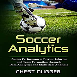 Soccer Analytics audiobook cover art
