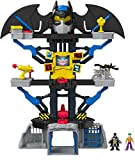Imaginext- Batman Súper Friends Transforming Batcave, Multicolor (Fisher Price CHH91)