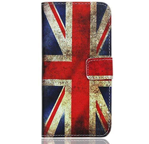 WenTian HTC Desire 20 Pro Handy Tasche, CaseExpert® Retro Vintage Wallet Case Flip Cover Hüllen Etui Hülle Ledertasche Lederhülle Schutzhülle Für HTC Desire 20 Pro