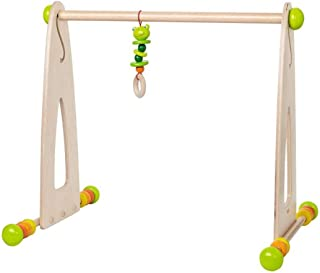 ikea leka wooden baby gym