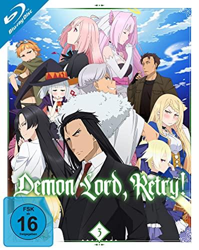 Demon Lord, Retry! - Vol.3 (Ep. 9-12) [Blu-ray]