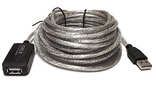 Yosoo 5 m/10 m/15 M/20 M Largo Llegar a USB Cable de...
