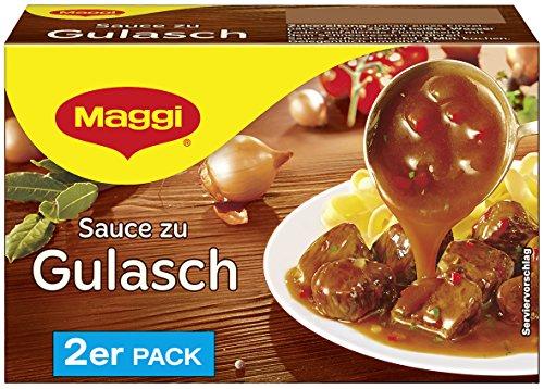 Maggi Sauce zu Gulasch, (2 x 250 ml)