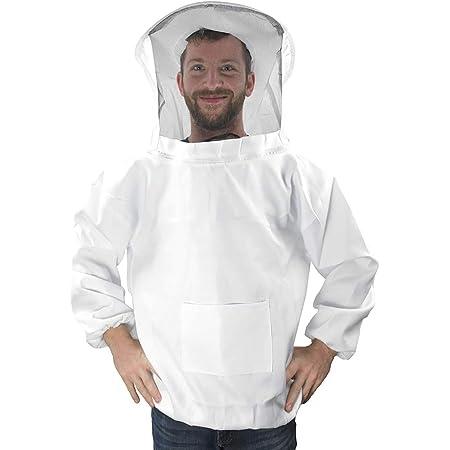 Beekeeping Suit Beekeepers protective suit beekeeper jacket hat veil gloves Jacket Foldable Fencing Veil Coverall Bee Protecting Suit Smock