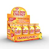 Vitamin Energy Shots – Energy Lasts up to 7+ Hours*, Supports Immune Health*, Great Tasting Tango Orange, Keto Friendly 0 Sugar / 0 Carbs (48 Count)