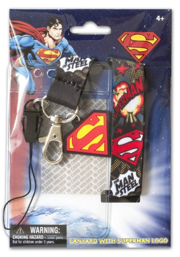 DC Comics Superman Logo Lanyard