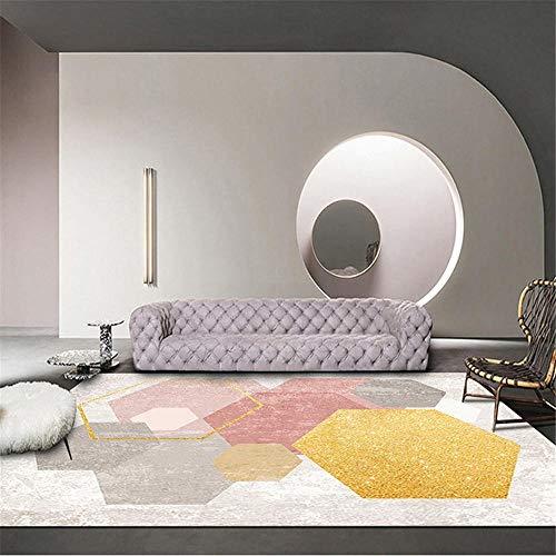habitacion Juvenil Completa Alfombra de la Sala de Estar Rectangular Moderno Gris...