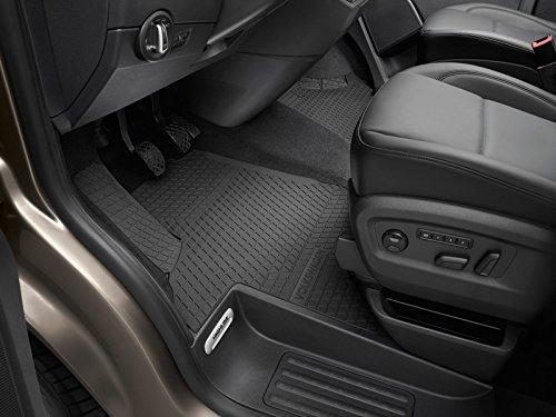 Original VW T5 T6 Transporter Multivan Allwettermatten Gummimatten 2X vorn Gummi Fußmatten schwarz 7H1061502A 82V
