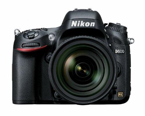 Nikon D600 24.3 MP CMOS FX-Format Digital SLR Camera with 24-85mm f/3.5-4.5G ED VR AF-S Nikkor Lens (OLD MODEL)