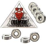 Oldboy - Rodamientos de cerámica - para Skate y Longboard - Giro rápido