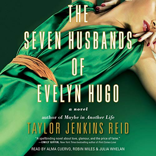 The Seven Husbands of Evelyn Hugo cover art