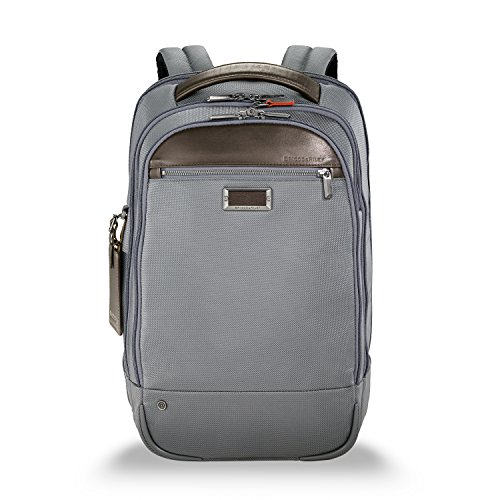 Briggs & Riley Work Medium Backpack Aktentasche, 44 cm, 17.2 liters, Grau (Grey)