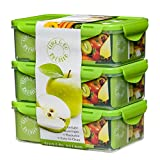 Green Bento Box – 39oz - 3 Food Containers for Adults & Kids – School Lunch Box – Removable...
