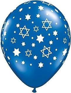 Anagram 32627 Star Of David Foil Balloon 21 Multicolored