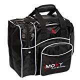 Moxy Bowling Products Single Deluxe Bowling Bag (Black)