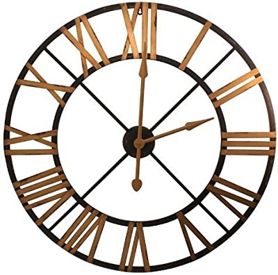 amazon infinity instruments 14024 24 kaleidoscope wall clock 2Pm Clock split p metal clock black and gold by split p