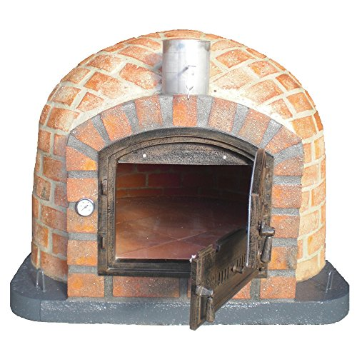 JVP 110cm Rústico Outdoor Wood-Fired Brick Pizza Oven