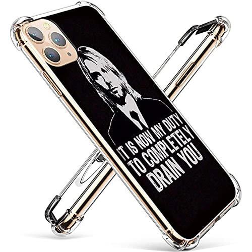 LVZGCXPO Funda iPhone X/Funda iPhone XS Transparent Soft Airbag Silicone Case Ketemeaer OG O_ Pattern-0498