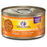 Wellness Natural Pet Food 8954 Natural Grain Free Wet Canned Cat Food,...